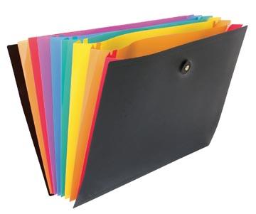 Viquel Rainbow Class voorordner, liggend model met 8 vakken