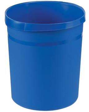 Han papiermand blauw