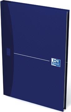 Oxford Office Essentials schrift, harde kaft, 192 bladzijden, gelijnd, ft A5, original blue