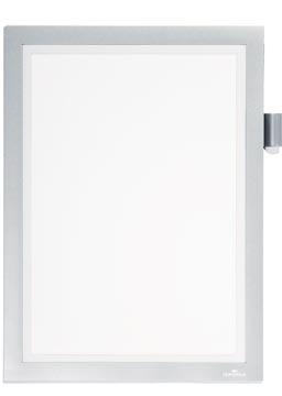 Durable duraframe magnetisch kader Note A4, zilver