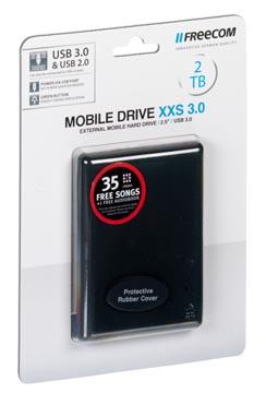 Freecom Mobile Drive XXS 3.0 harde schijf, 2 TB