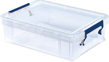 Bankers Box opbergdoos ProStore 2,3 liter, transparant
