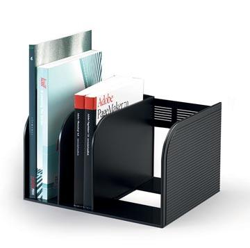 Durable boekensteun Optimo zwart