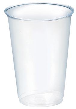 Drinkbeker uit PLA, 200 ml, transparant, pak van 100 stuks